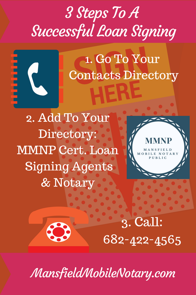 Mansfield Mobile Notaries Public - Texas Notary - Notary Public